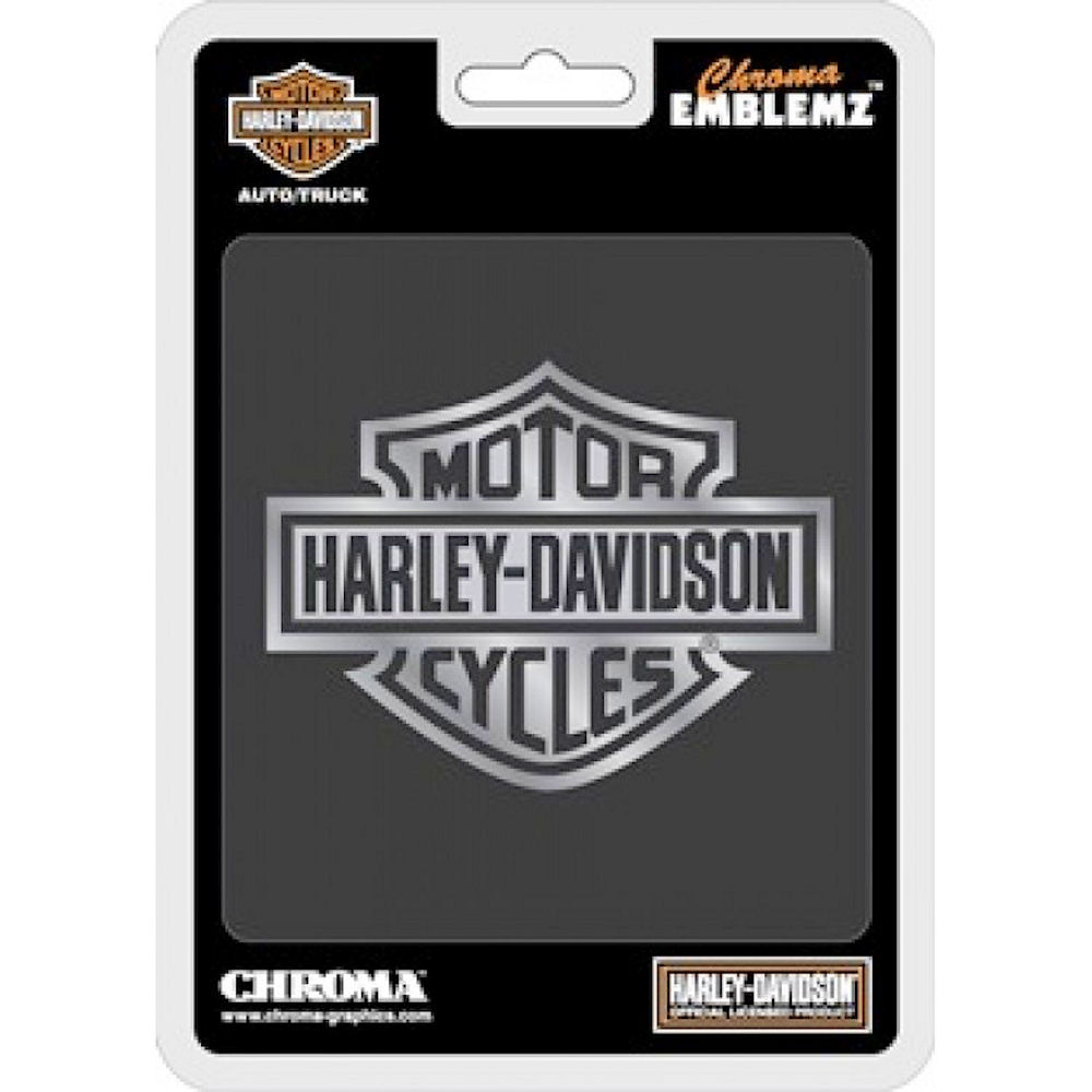 Harley Davidson Bar And Shield Auto Emblem