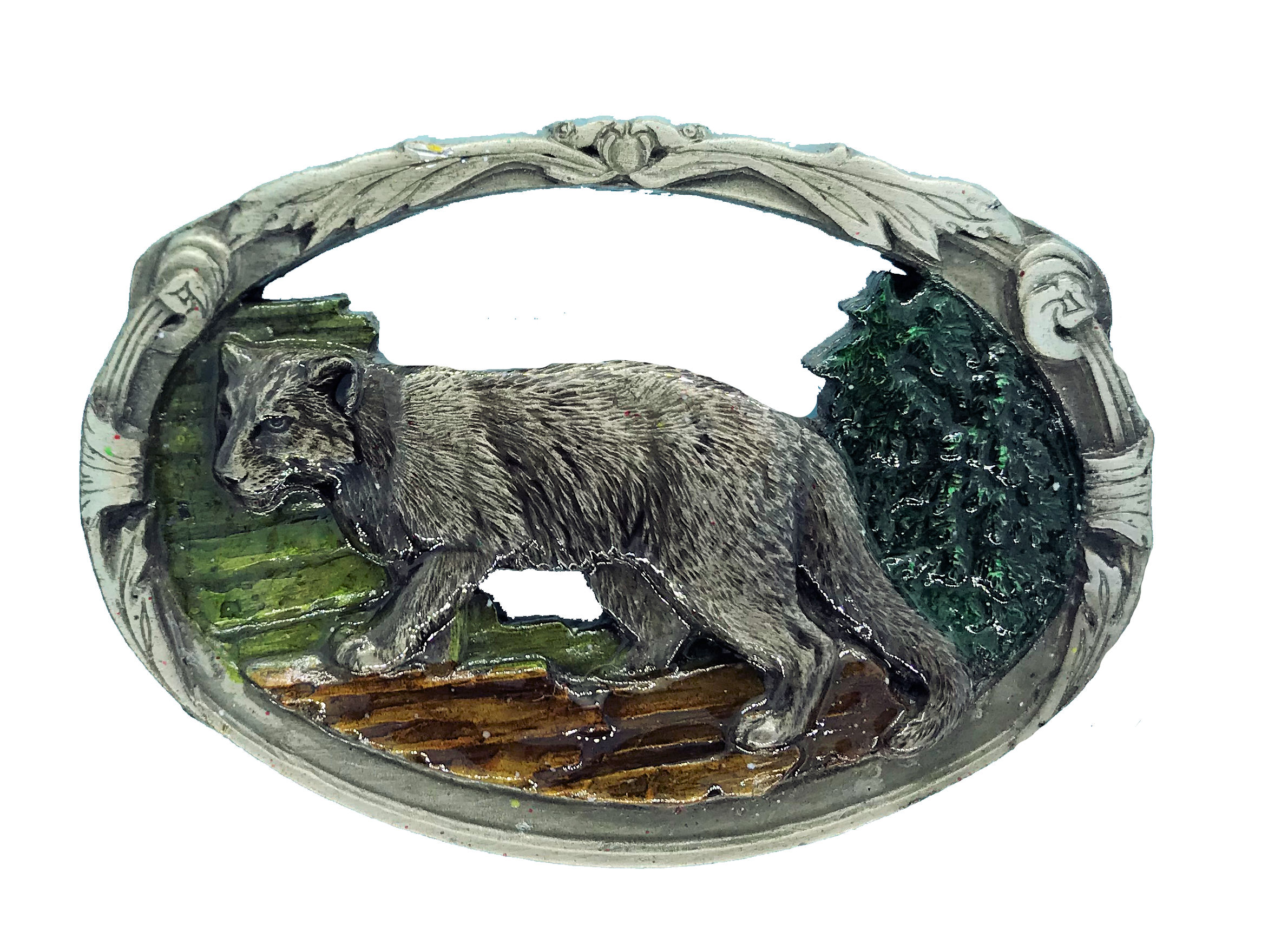 Cougar Belt Buckle