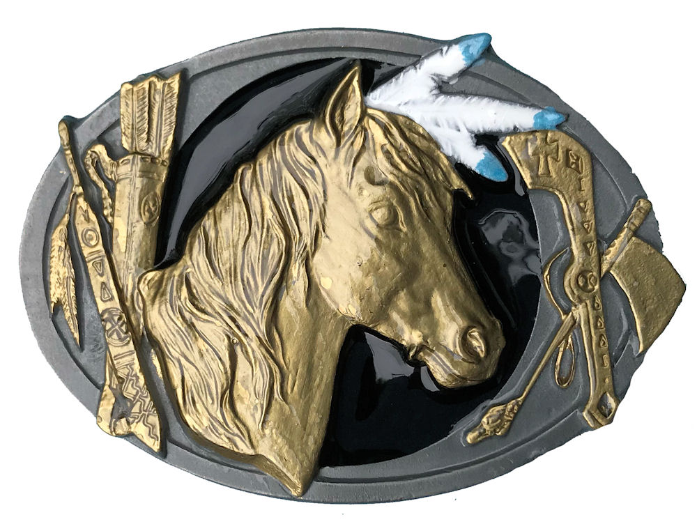 Indian Horse Black & Gold Range