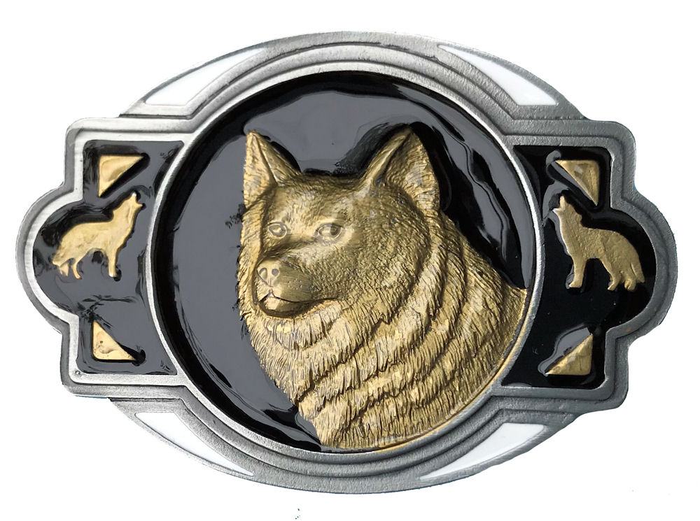 Wolf Head Black & Gold Range