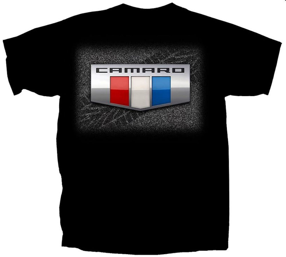 Camaro Logo Officially Licensed T Shirt XXL