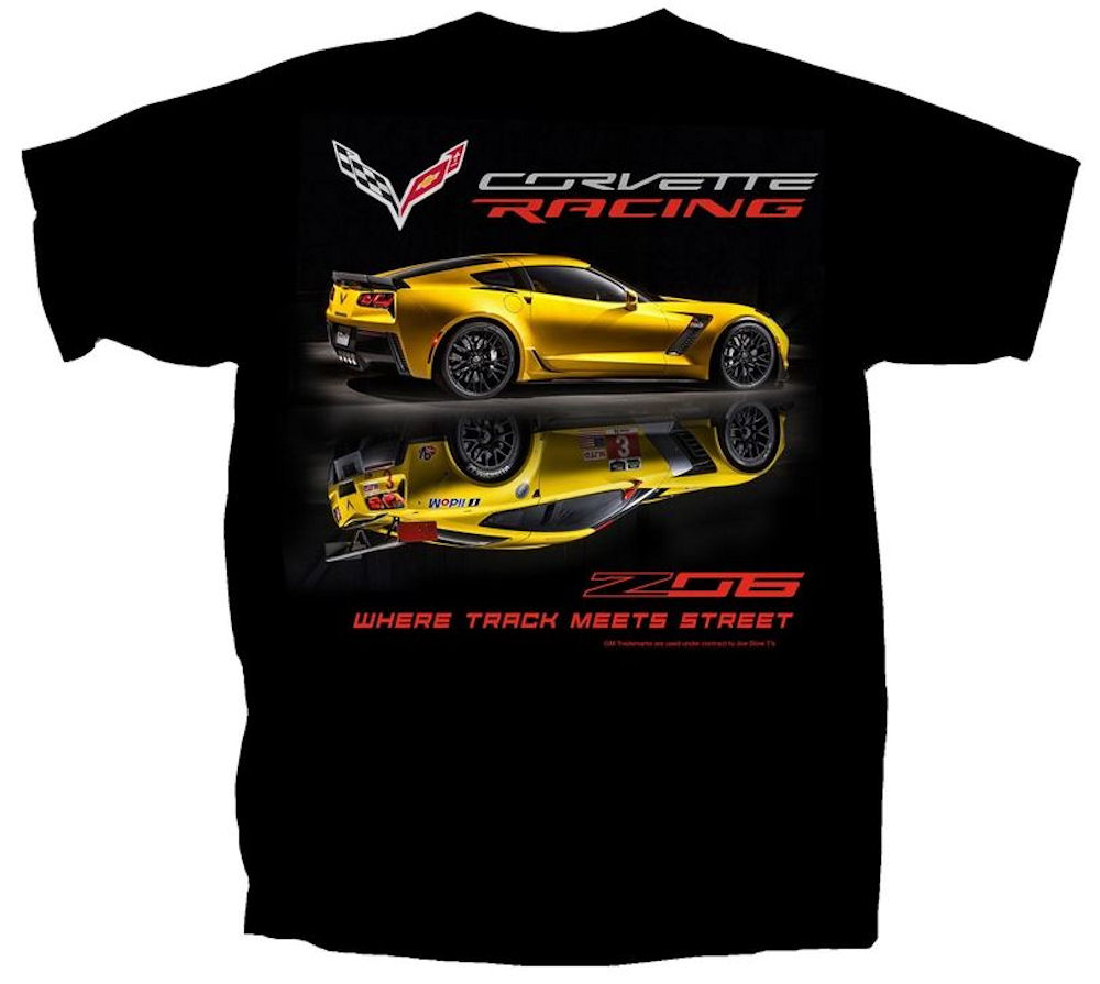 Corvette ZO6 Officially Licensed T.Shirt Large