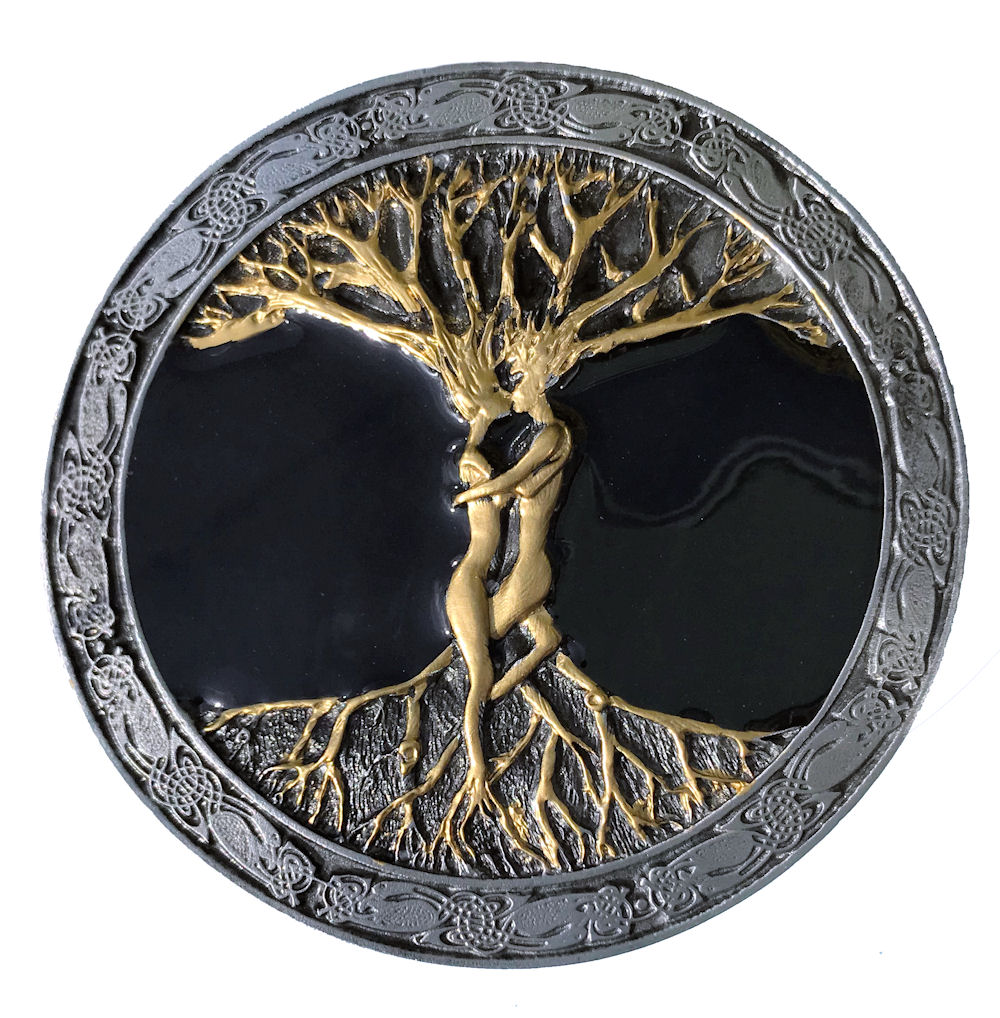 Tree Of Life Black & Gold