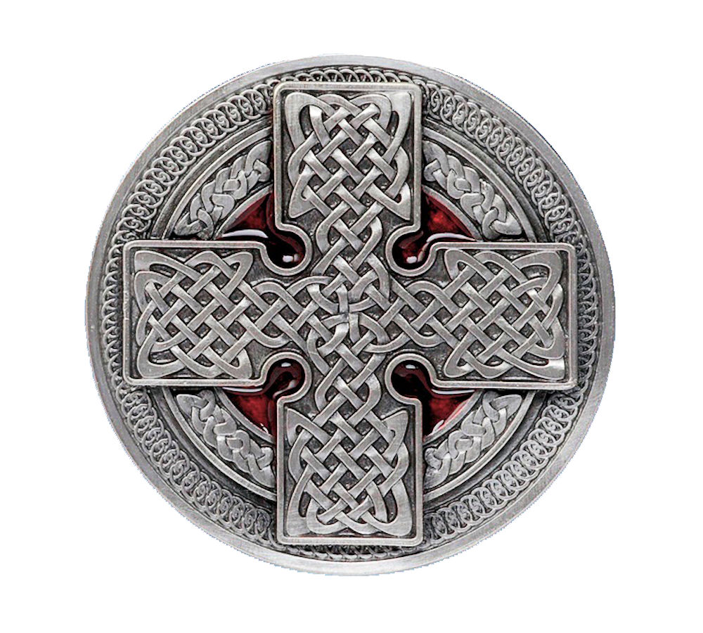 round cross red
