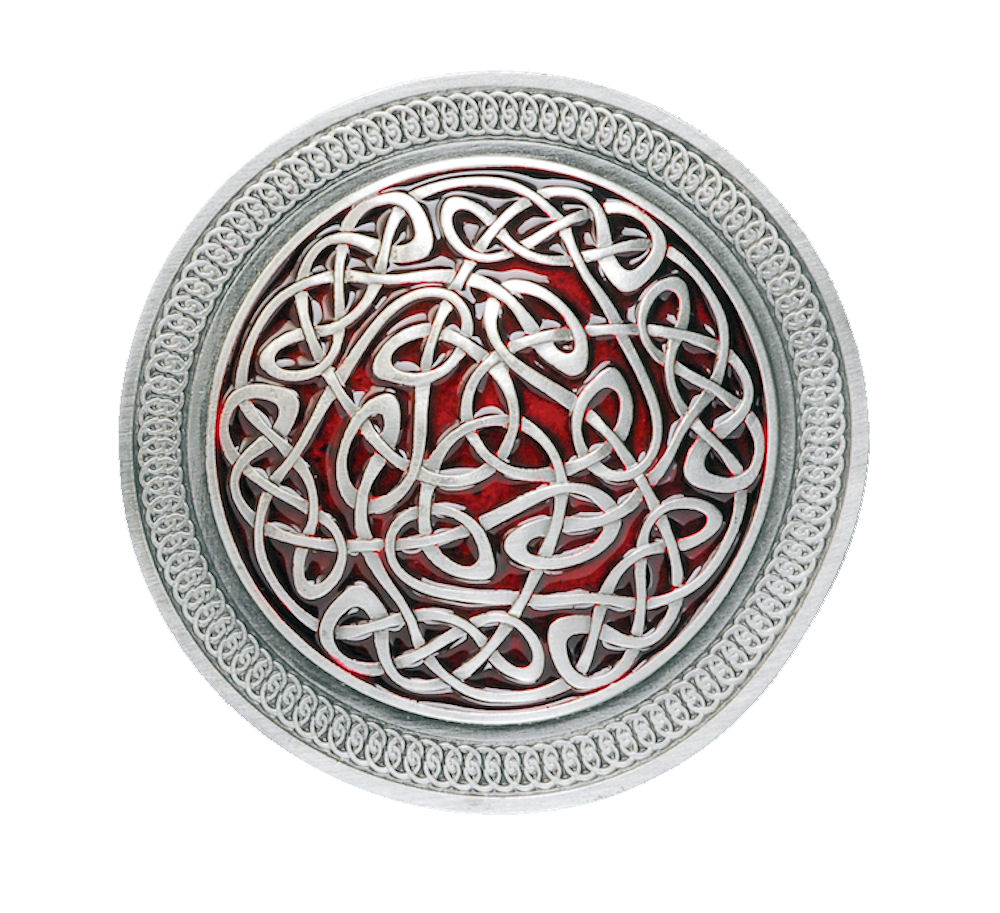 round celtic pat. red