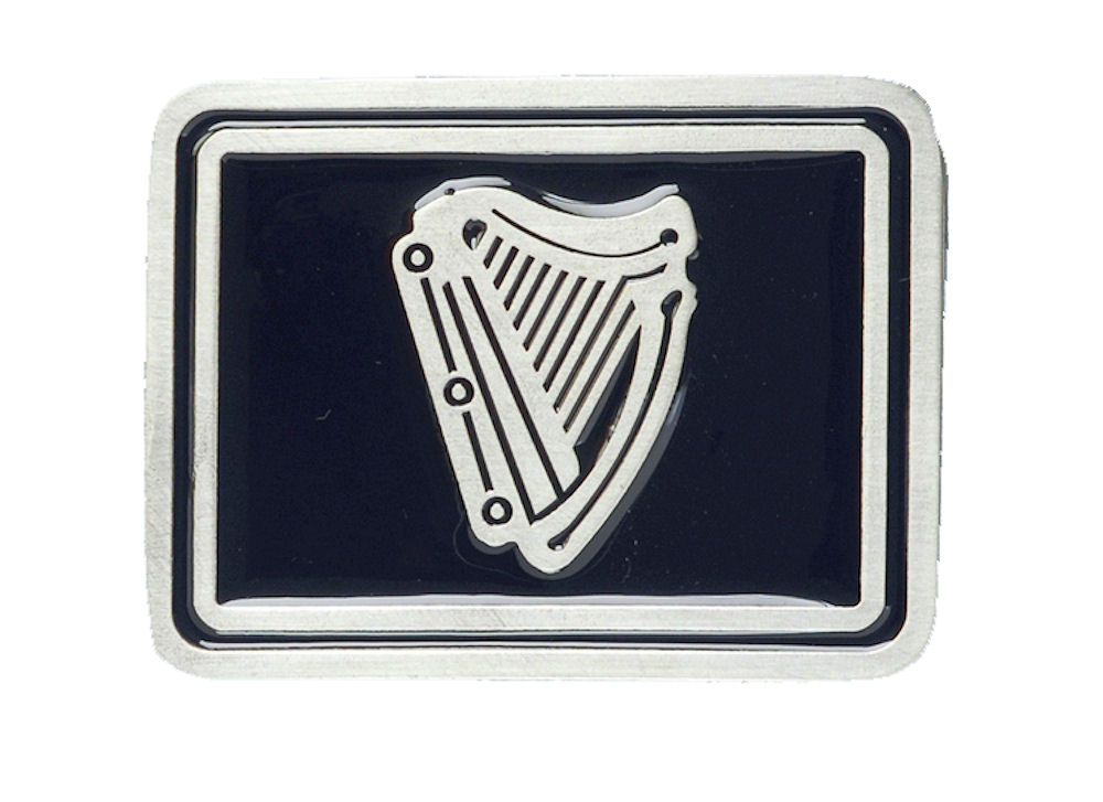 Irish Harp Belt Buckle