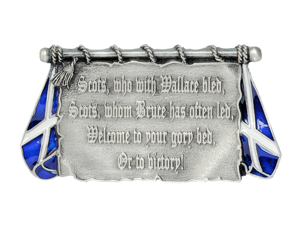 Scotland to Victory Belt Buckle
