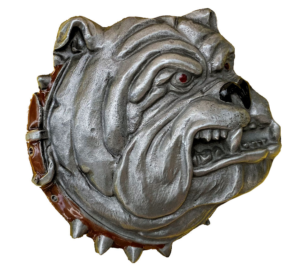 Bulldog Head Belt Buckle