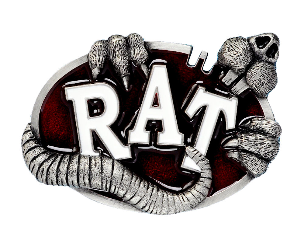 Rat Belt Buckle