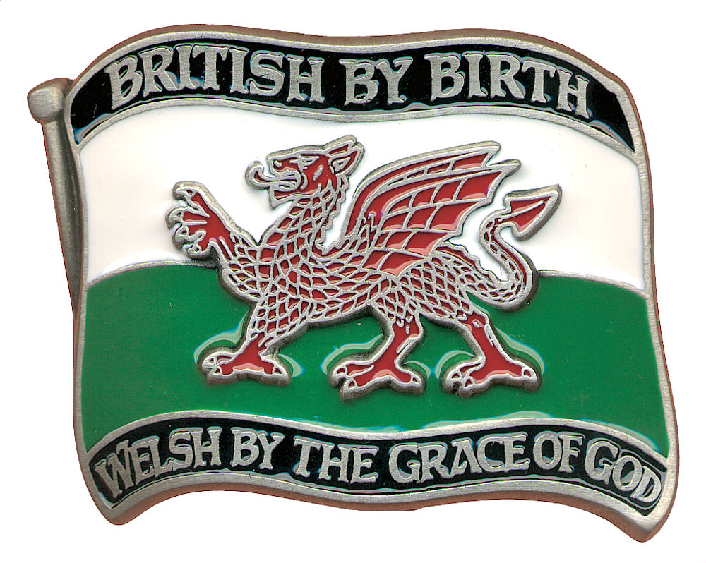Welsh by Grace Belt Buckle