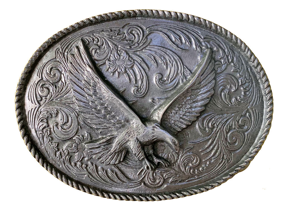 Rodeo Eagle Belt Buckle