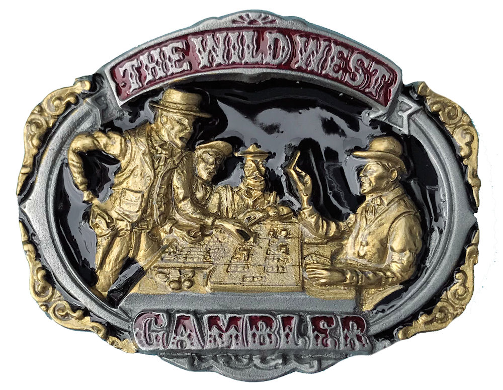 The Wild West Gambler Black & Gold Range