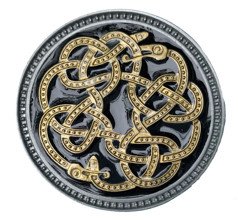 Celtic Snakes Black & Gold Range