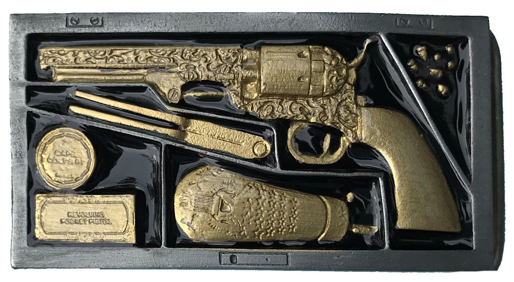 Navy Colt in Box Black & Gold Range