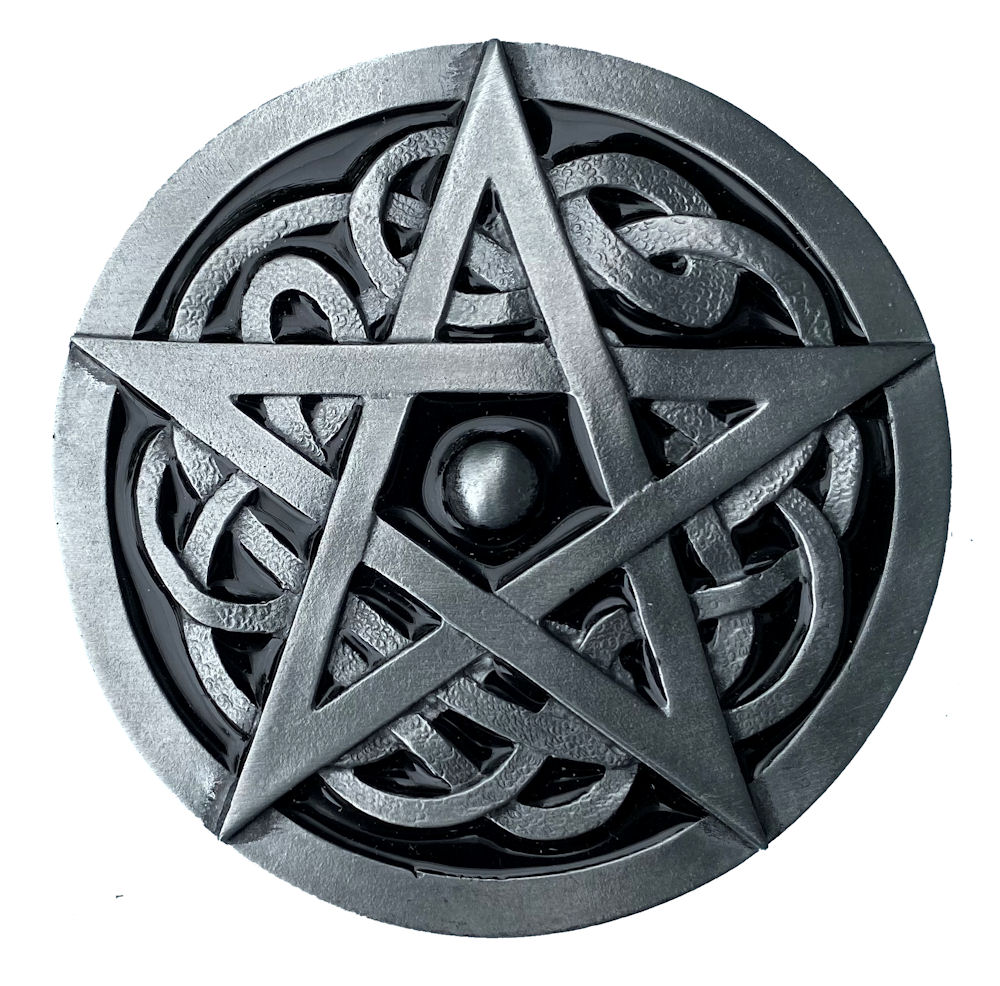 Pentagram Buckle - Black