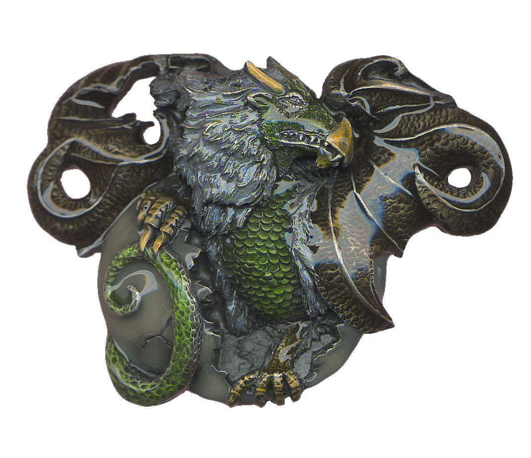 Dragons Egg Belt Buckle