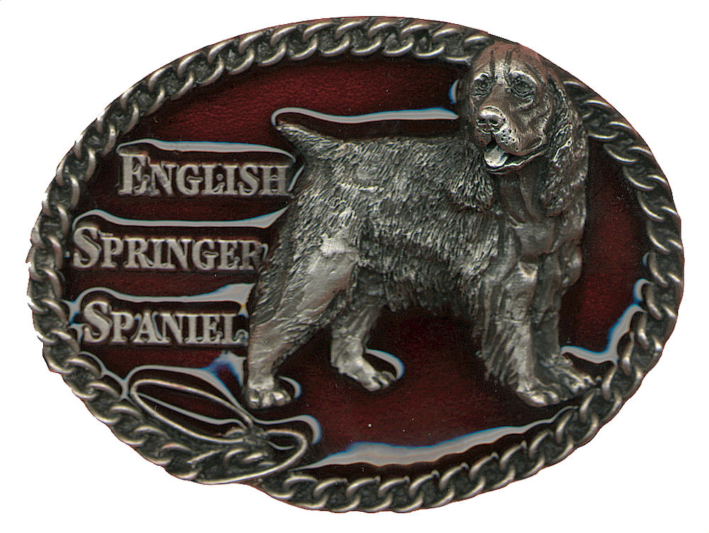 English Springer Spaniel Belt Buckle