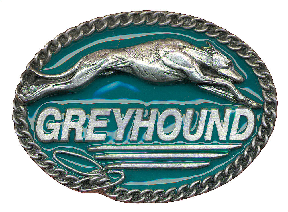 Greyhound Belt Buckle