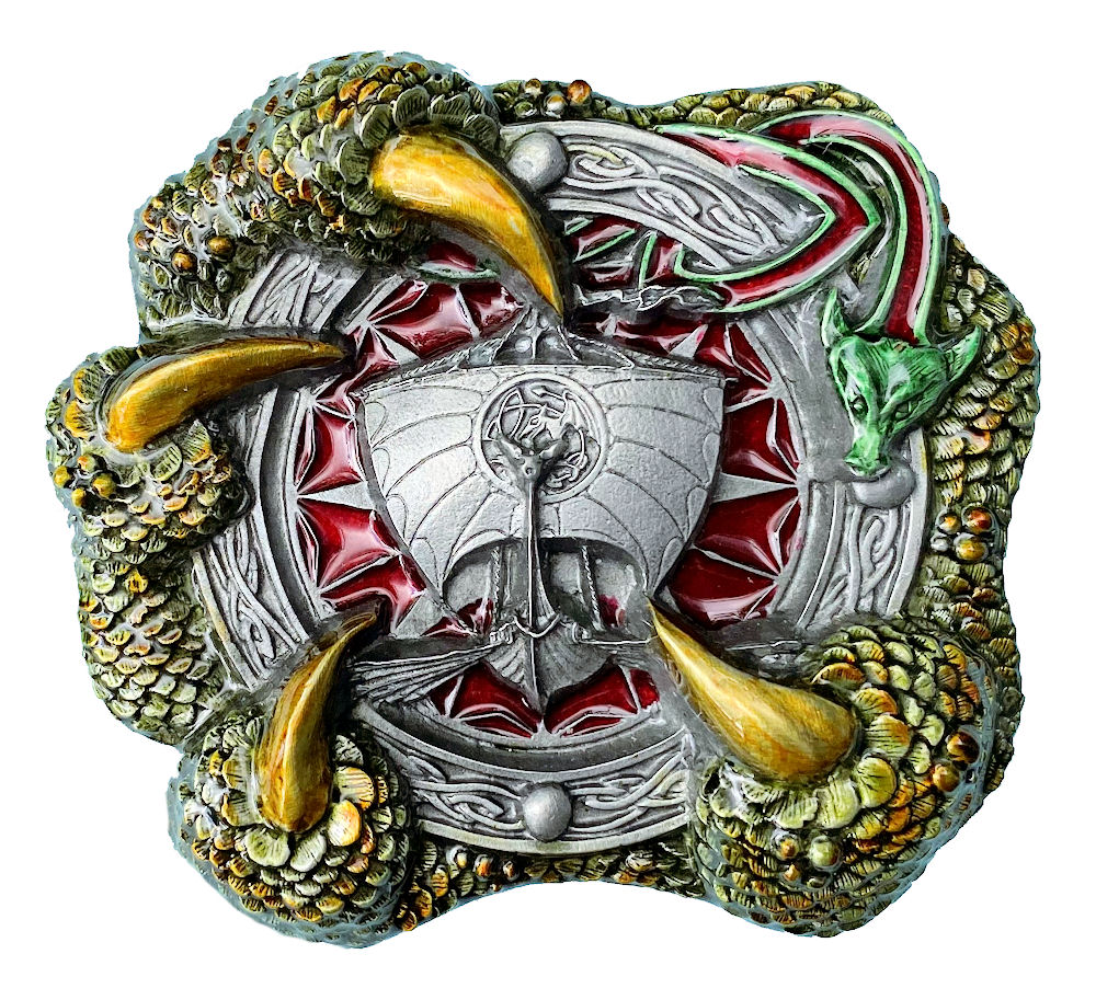 Celtic Giant Claw Belt Buckle