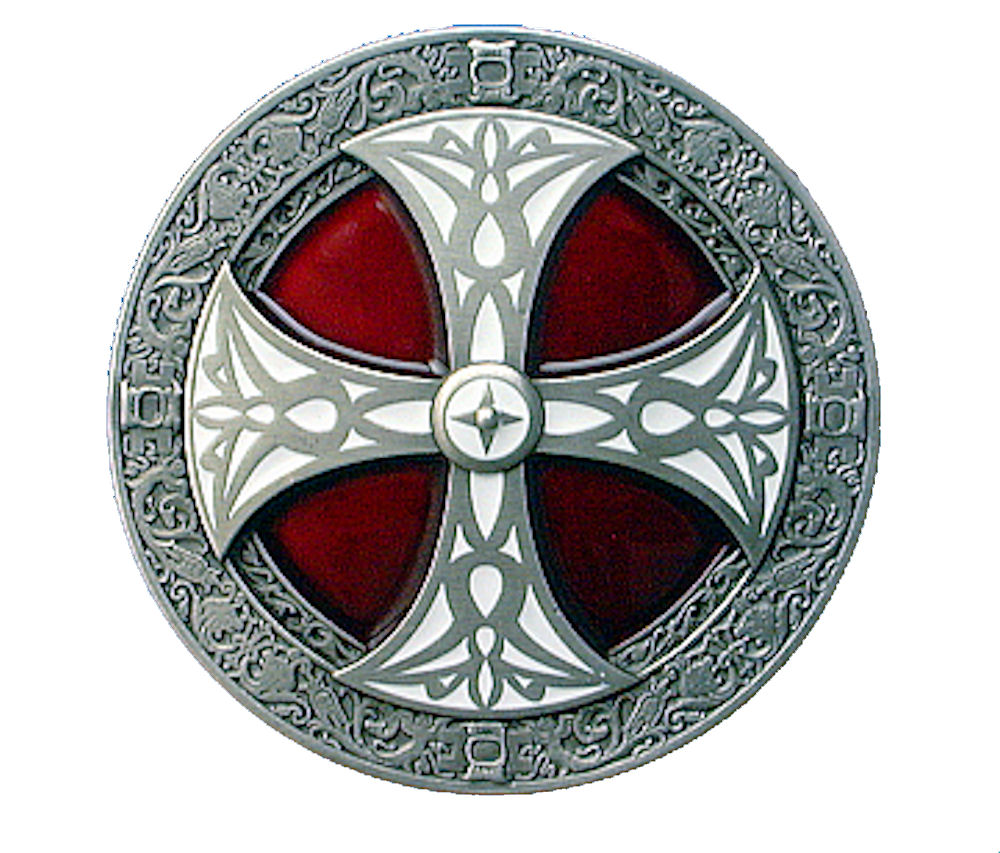 norse cross - red - white