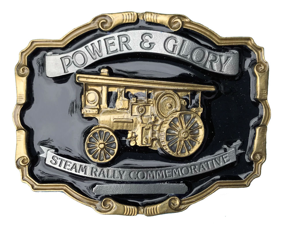 Power & Glory Steam Rally Black & Gold Range