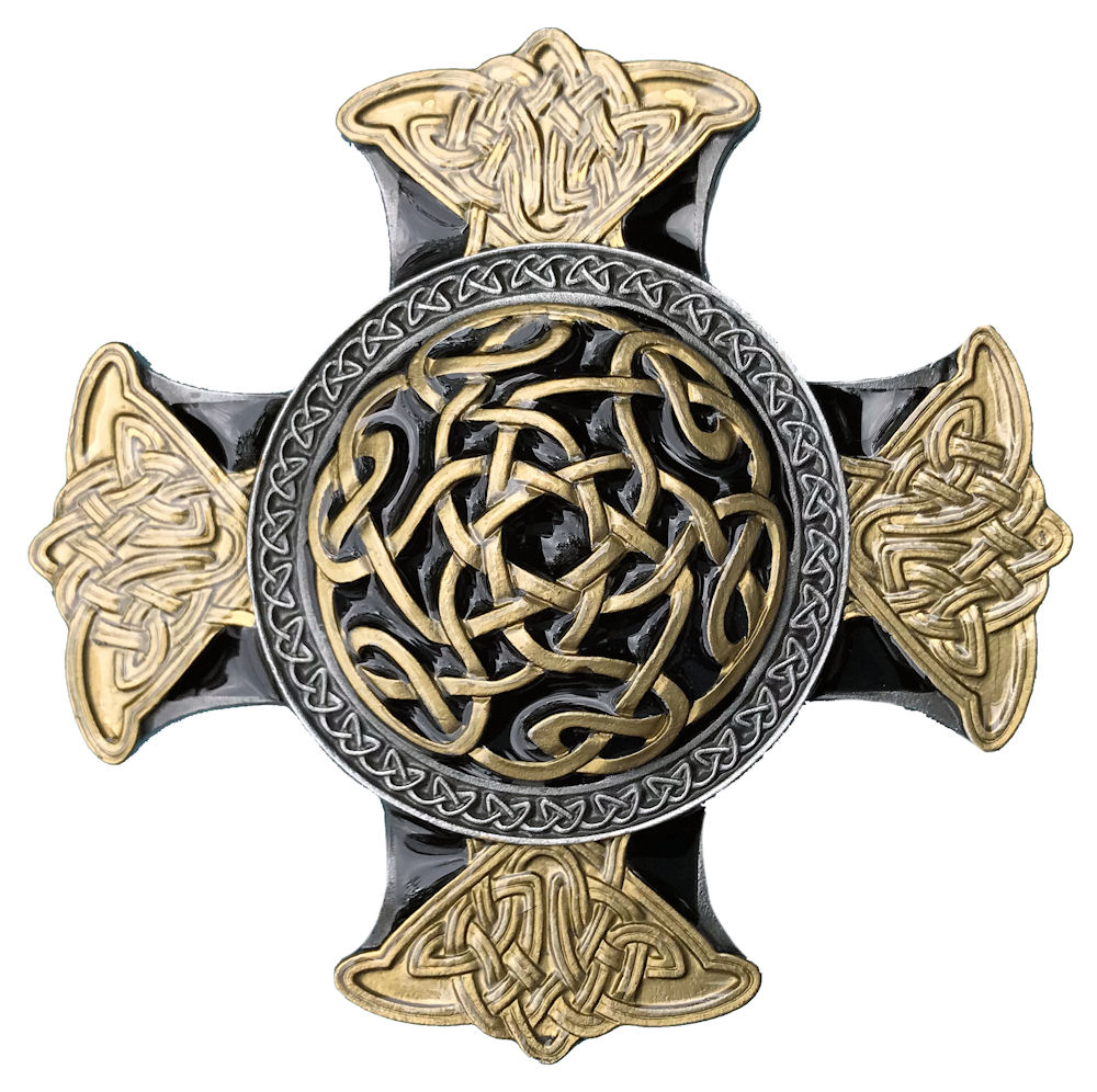 Celtic Cross Black & Gold Range
