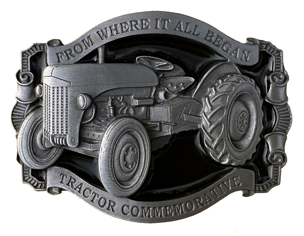 Where it all Began (grey) Belt Buckle