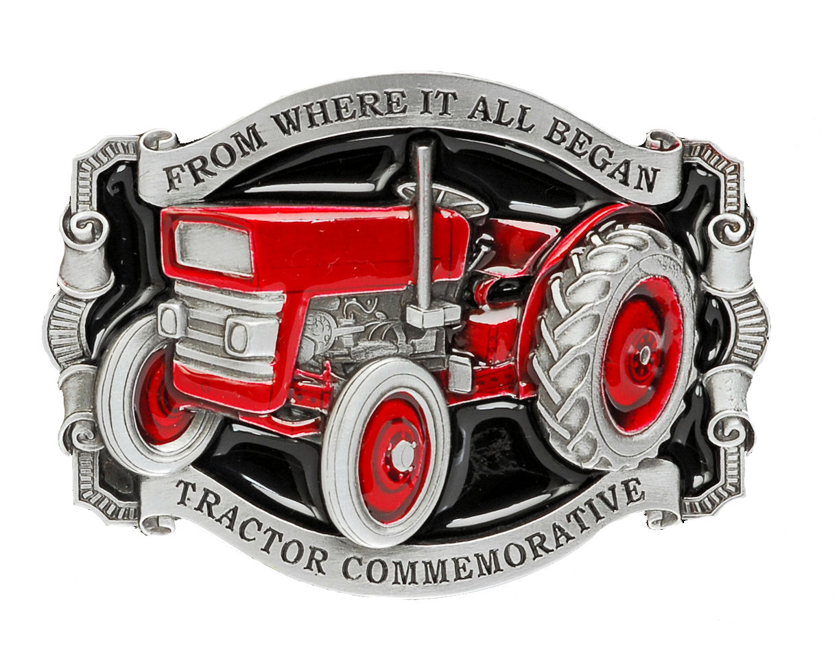 Where it All Began Tractor Belt Buckle