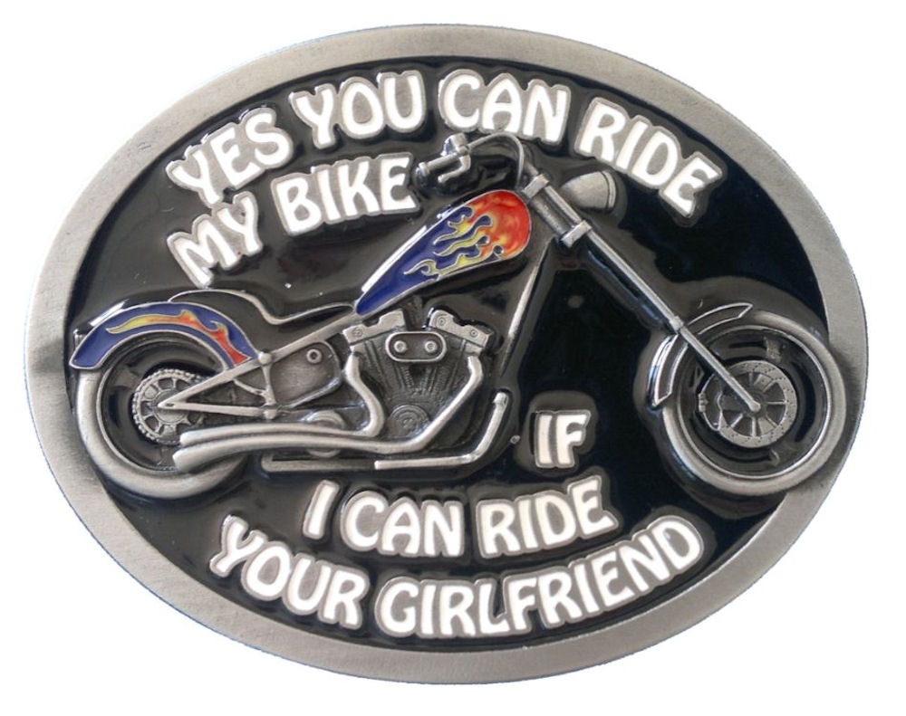 yes you can ride my bike, if