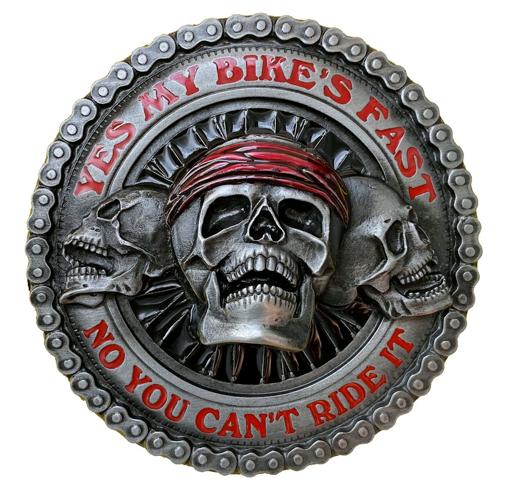 Yes my Bikes Fast Belt Buckle