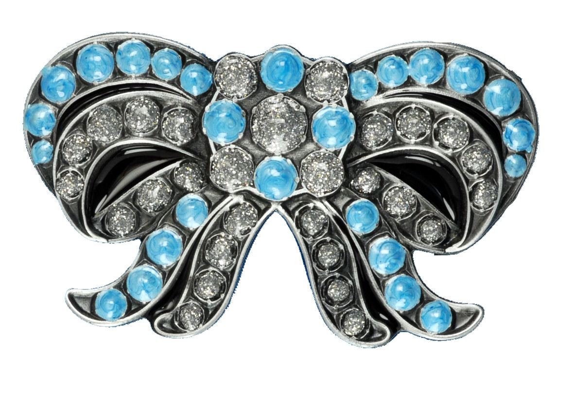 BOW TURQUOISE