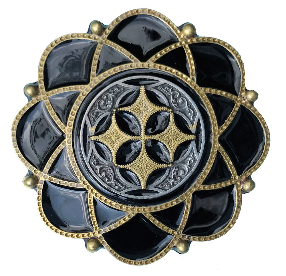 Celtic Flower Black & Gold Range