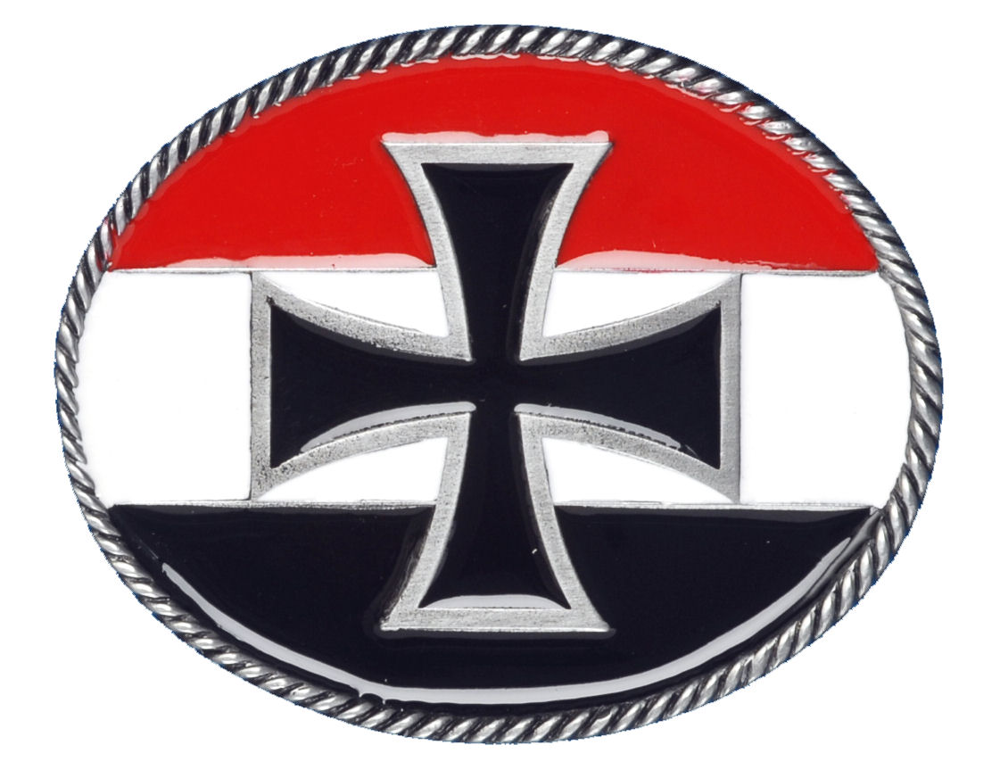 Imperial Cross Belt Buckle