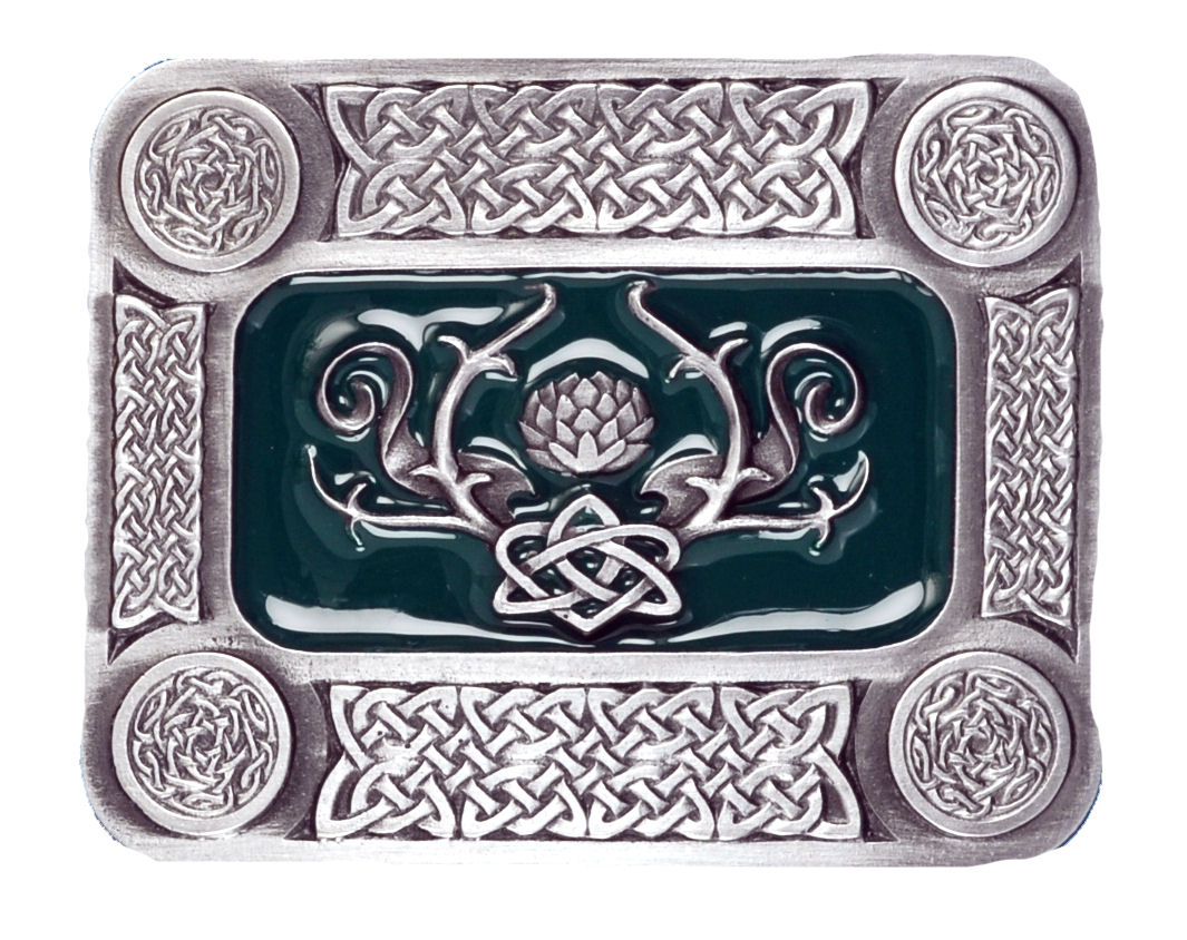 Celtic Design Belt Buckle