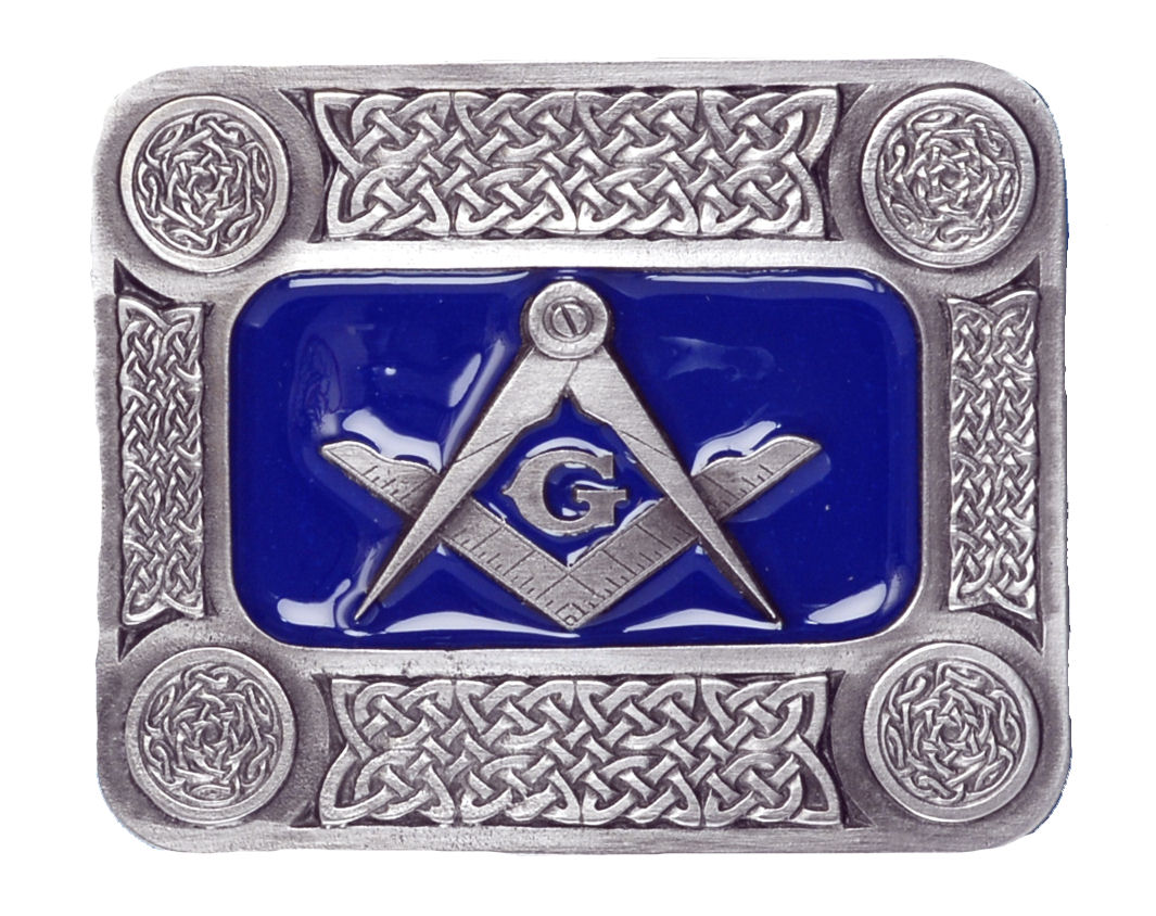 Oblong Mason Belt Buckle