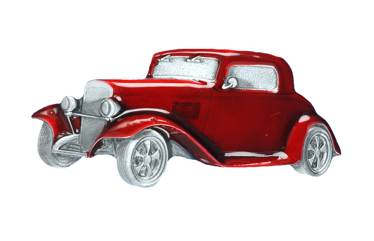HOT ROD RED