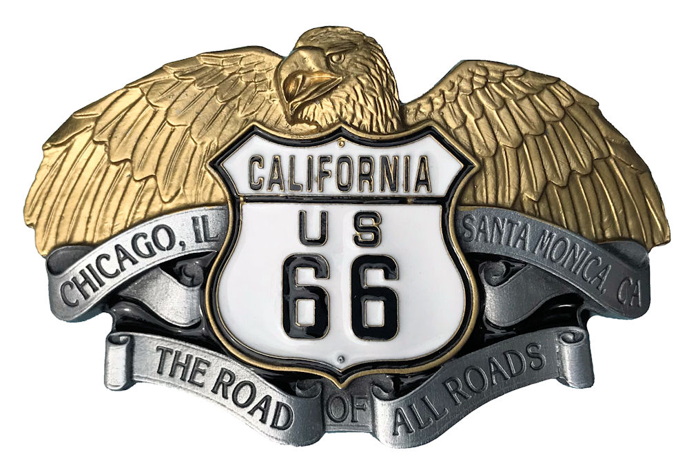 US 66 Eagle Black & Gold
