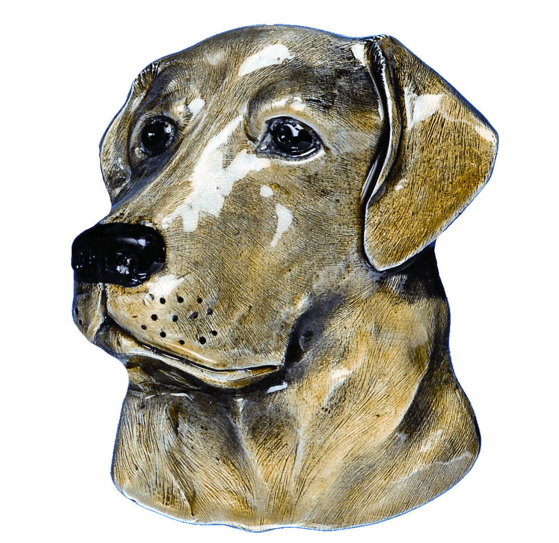 Labrador Dog Head Belt Buckle