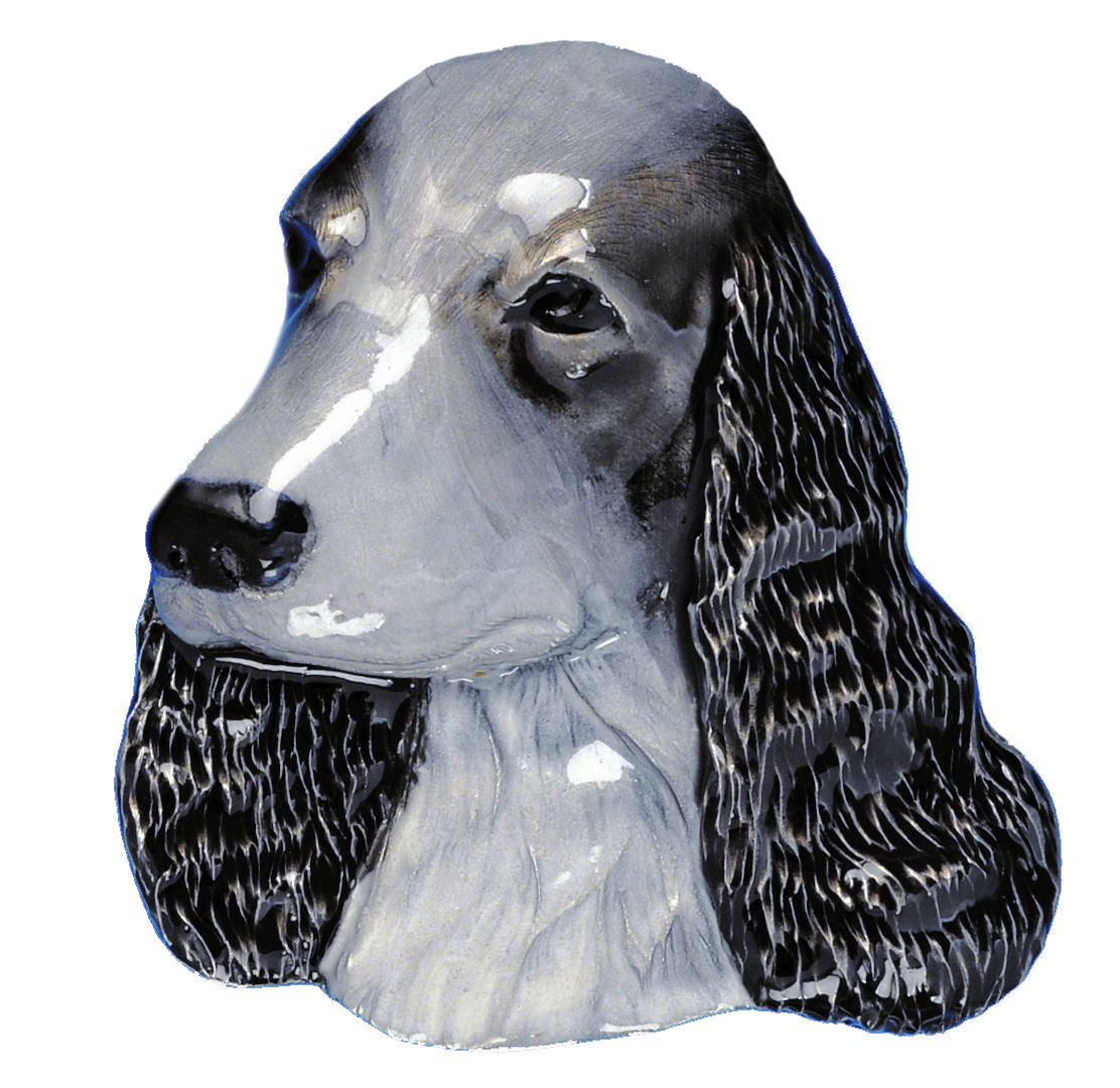 Cocker Spaniel Dog Head Belt Buckle