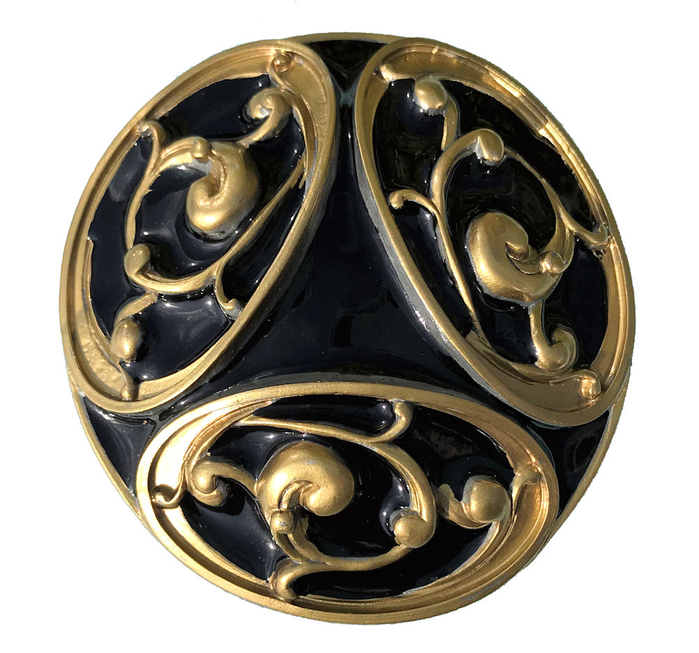 Celtic Design Black & Gold