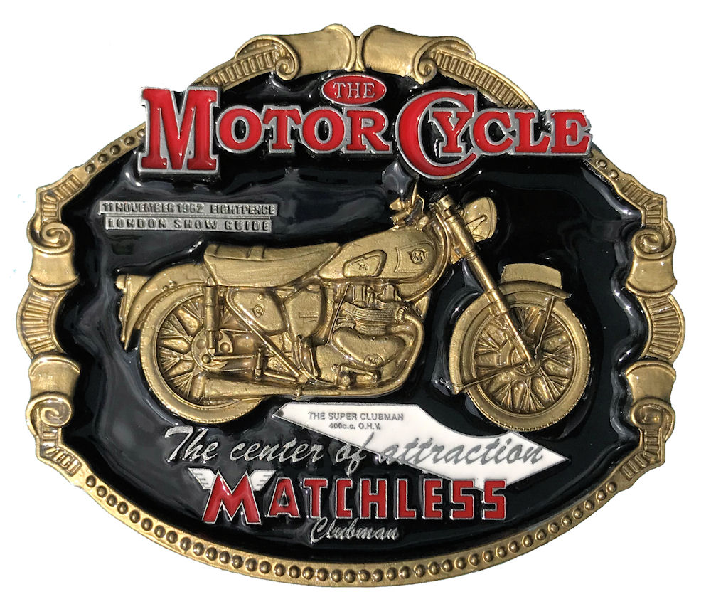 Matchless Motorcycle Black & Gold Range