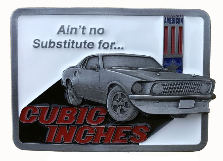 Mustang Mach 1 Belt Buckle