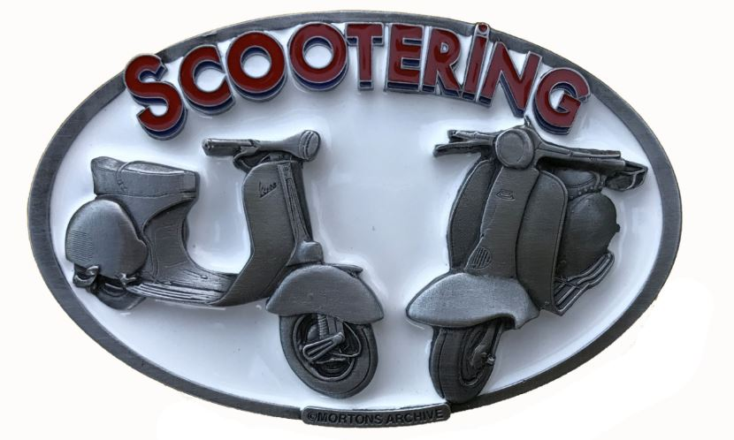 Vespa - Lambretta Belt Buckle