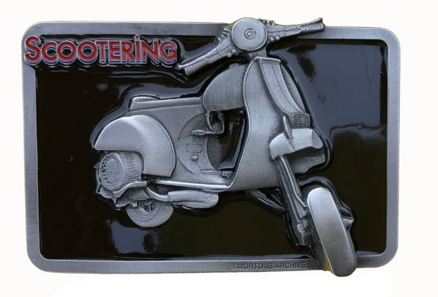 Vespa Belt Buckle
