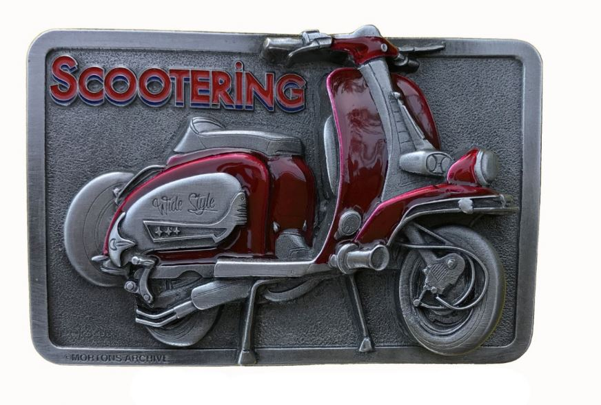 Lambretta Belt Buckle
