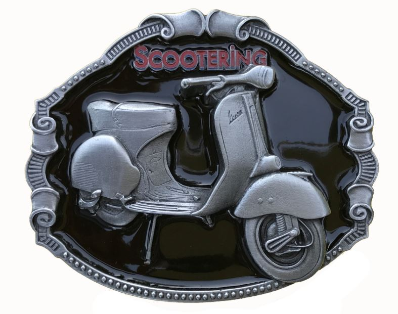 Vespa Scooter Belt Buckle
