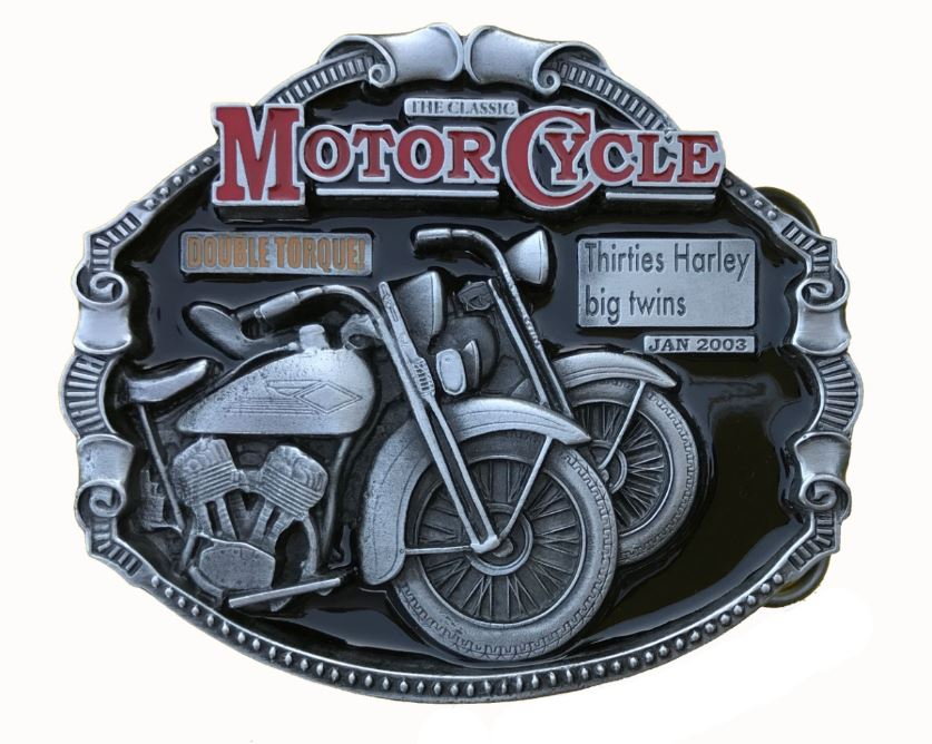 Harley Big Twins Belt Buckle