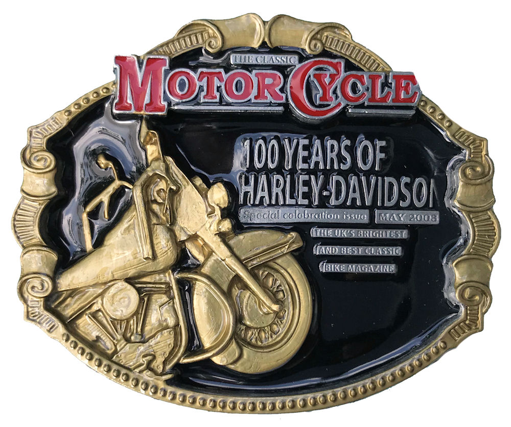 100 Years of Harley Davidson Black & Gold Range
