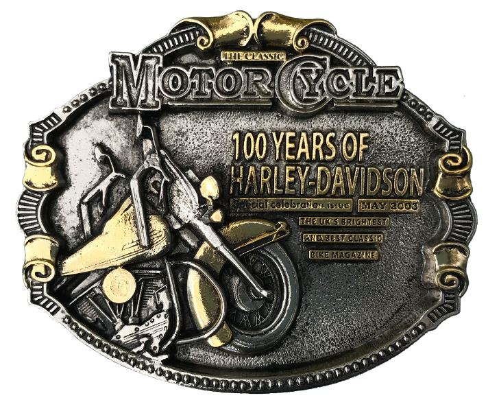 100 Years Of Harley Davidson Gold