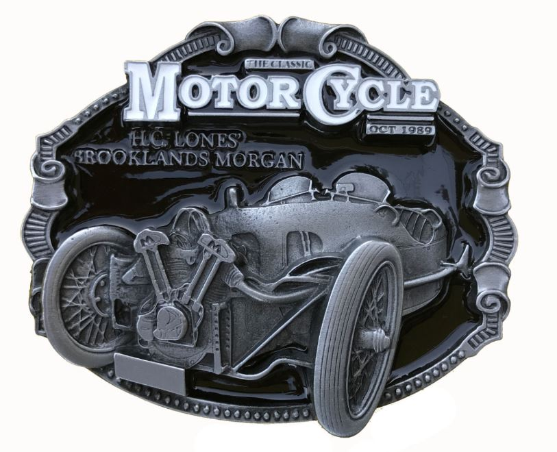 Morgan Car Belt Buckle